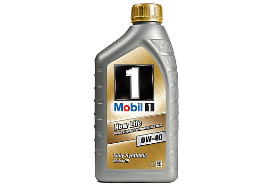 Mobil 1 New Life 0W/40 Oil 1L