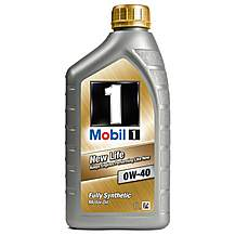 image of Mobil 1 New Life 0W/40 Oil 1L