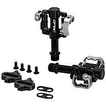 image of XLC Double Sided SPD MTB Pedals - Black