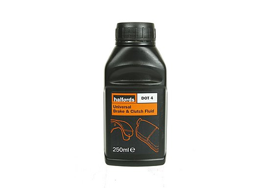 Halfords DOT4 Universal Brake & Clutch Fluid 250ml