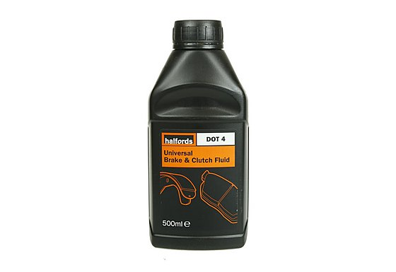 Halfords DOT4 Universal Brake & Clutch Fluid 500ml