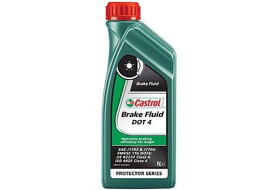 Castrol Motorbike Brake Fluid DT4 1L