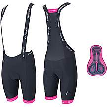 image of FORCE B45 Womens Cycling Bib Shorts