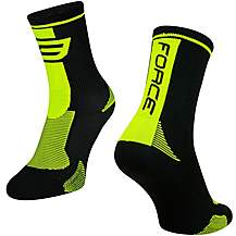 image of FORCE 1 Long Cycling Socks, S-M