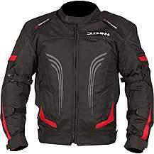 image of Duchinni Leopard Jacket Black/Red