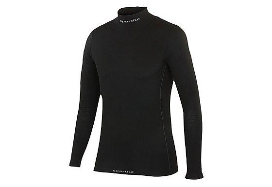 Sportful Long Sleeve Junior T-Shirt - Black