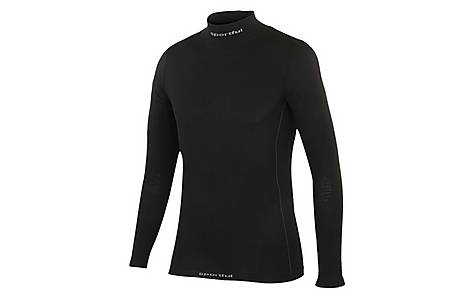 image of Sportful Long Sleeve Junior T-Shirt - Black