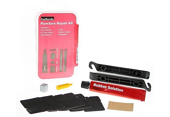Halfords Bike Tyre Puncture Repair Kit