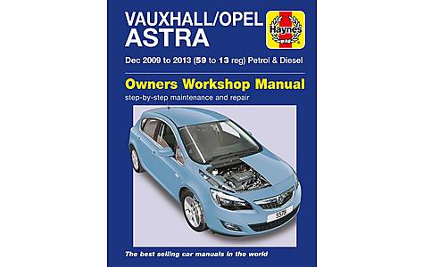 image of Haynes Vauxhall/Opel Astra Manual (Dec 09 - 13) 59 to 13