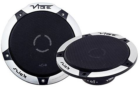 """image of Vibe Slick 6"""" V5 Co-Axial Car Speakers"""