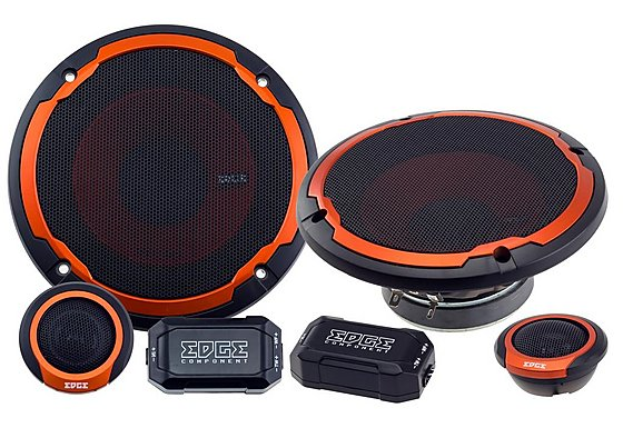 Edge ED305 V2 Component Car Speakers