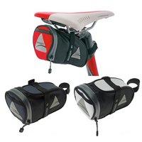 Axiom Rider DLX Large Seat Saddle Bag - Red/Black - Medium