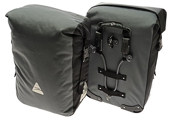 Axiom Typhoon Aero DLX Pannier Bag Set