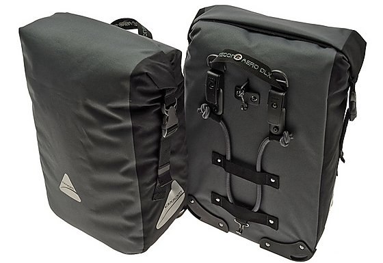 Axiom Monsoon Aero DLX Pannier Bag Set