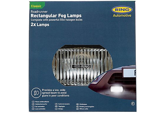 Ring Roadrunner Rectangular Fog Lights