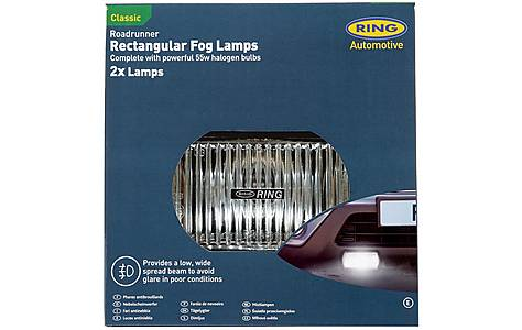 image of Ring Roadrunner Rectangular Fog Lights