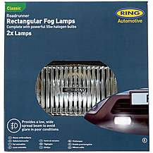 image of Ring Roadrunner Rectangular Fog Lights ? Twin Pack