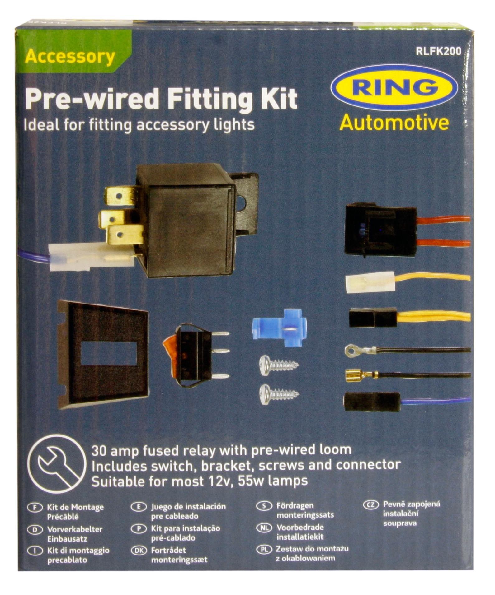 Ring Fast-Fit Kit  sc 1 st  Halfords : halfords amp wiring kit - yogabreezes.com