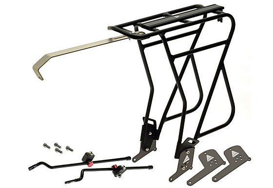 Axiom Journey Uni-Fit Mk 3 Aluminium Rear Pannier Rack