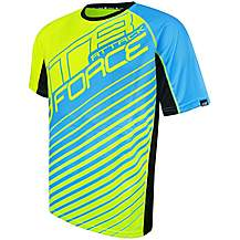 image of FORCE MTB ATTACK Jersey, Yellow/Blue