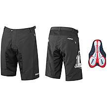 image of FORCE MTB-11 Shorts, Black