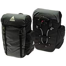 image of Axiom Seymour Deluxe 30 Pannier Bag - Grey/Black