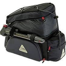image of Axiom Paddywagon Exp19 Trunk Bag - Grey/Black