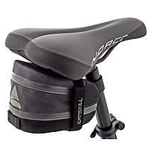 image of Axiom Catskill LX Exp Saddle Seat Bag - Grey/Black