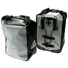 image of Axiom Typhoon LX40 Pannier Bag - Grey/Black