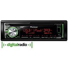 image of Pioneer DEH-X6600DAB CD RDS Tuner with DAB+ Digital Radio