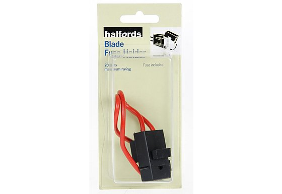 Halfords In Line Blade Fuse Holder 20Amp