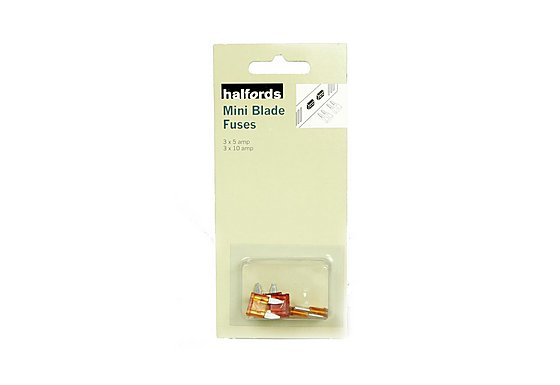 Halfords Mini Blade Fuses