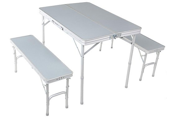 Urban Escape Folding table and Bench Set