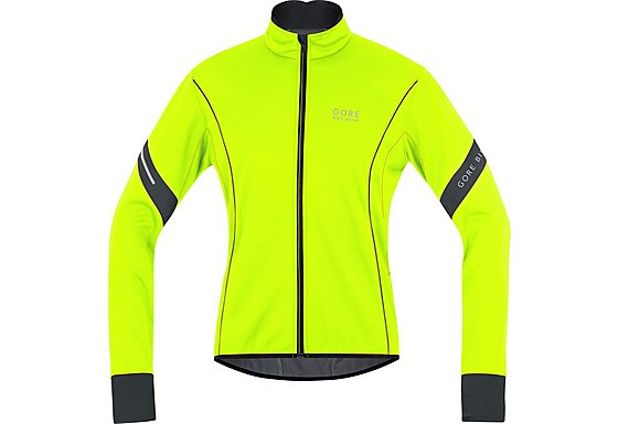 Gore Bike Wear Mens Power 2.0 Windstopper Soft Shell Jacket