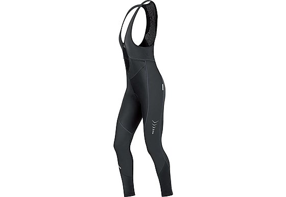 Gore Bike Wear Contest Womens Windstopper Soft Shell Bib Tights