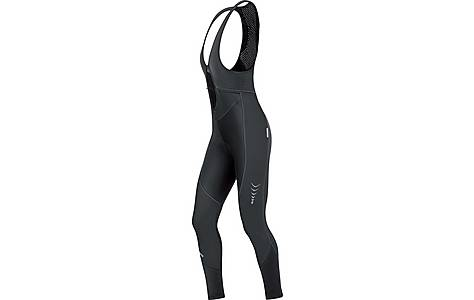 image of Gore Bike Wear Contest Womens Windstopper Soft Shell Bib Tights