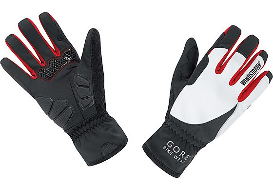 Gore Bike Wear Womens Windstopper Power Soft Shell Gloves