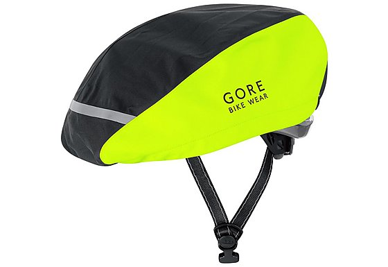 Gore Universal City Gore-Tex Helmet Cover - Black/Neon