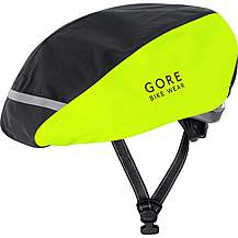 image of Gore Universal City Gore-Tex Helmet Cover - Black/Neon