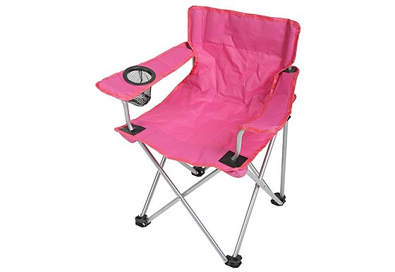 Halfords Kids Pink Folding Chair