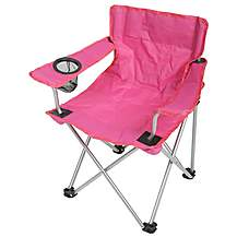 image of Halfords Kids Pink Folding Chair