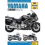 Yamaha FJR1300 (01-13) Motorcycle Manual