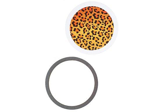 Leopard Print Tax Disc Holder