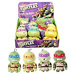 image of Talking Teenage Mutant Ninja Turtles Mini Plush Keyring