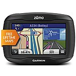"image of Garmin Zumo 390 LM 4.3"" Motorcycle Sat Nav - UK, ROI and Full Europe"