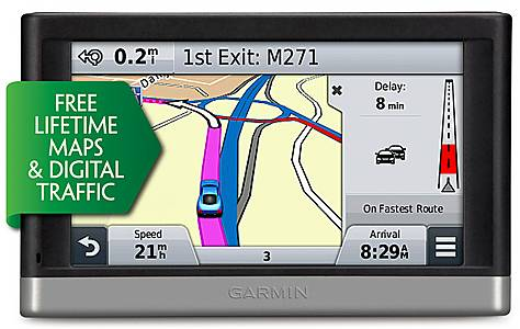 "image of Garmin nuvi 2508LMT-D 5"" Sat Nav with UK & Ireland Lifetime Maps and Traffic"