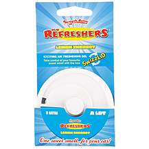 image of Retro Scents Refreshers Lemon Air Freshener Gel Pot