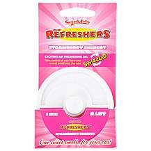 image of Retro Scents Refreshers Strawberry Air Freshener Gel Pot