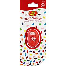 image of Jelly Belly Membrane Car Vent Air Freshener Very Cherry