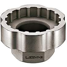 """image of Lezyne External Bottom Bracket Socket Tool For 3/8"""" Socket Driver"""